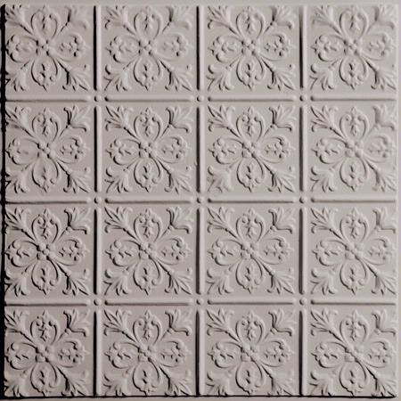 Fleur De Lis Latte Ceiling Tiles