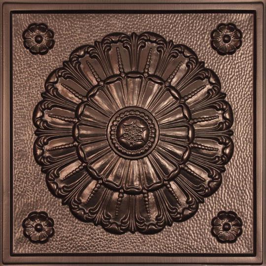 Medallion Bronze Ceiling Tiles