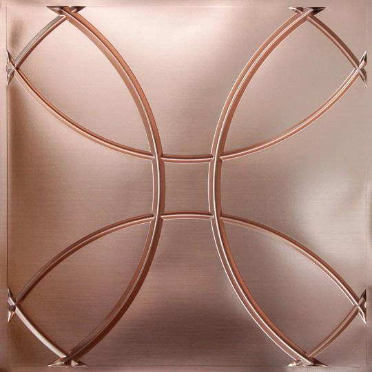 Orb Copper Ceiling Tiles