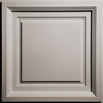 Westminster Coffered Ceiling Tile in Latte