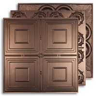 Bronze 2 ft. x 2 ft. Ceiling Tiles
