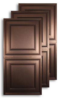 Bronze 2 ft. x 4 ft. Ceiling Panels
