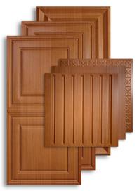 Caramel Wood 2 ft. x 4 ft. Ceiling Panels