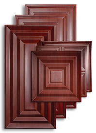 Cherry Wood 2 ft. x 4 ft. Ceiling Panels