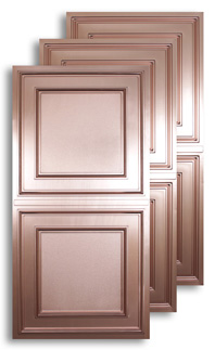 Copper 2 ft. x 4 ft. Ceiling Panels