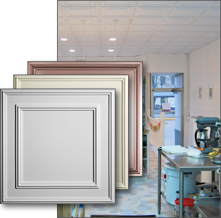 Cambridge Ceiling Tiles and Ceiling Panels