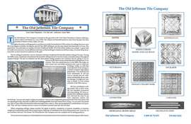 The Old Jefferson Tile Company Brochure