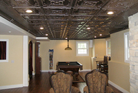 Decorative Glue-Up Ceiling Tiles