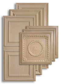 Sandal Wood 2 ft. x 4 ft. Ceiling Panels