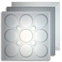 Translucent 2 ft. x 2 ft. Ceiling Tiles