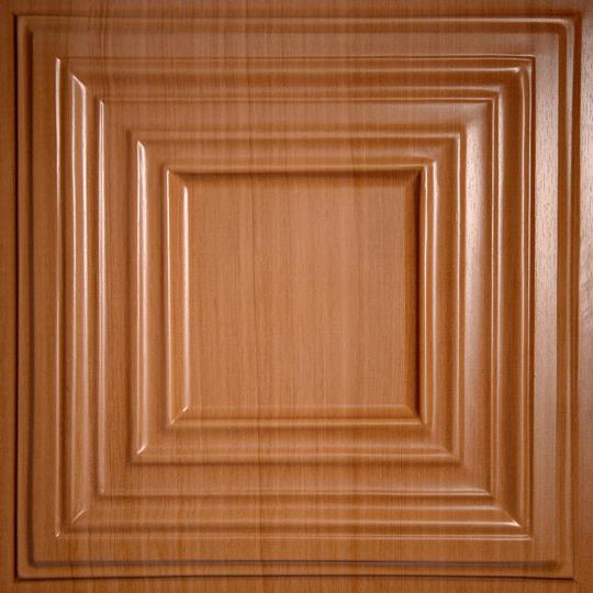 Bistro Caramel Wood Ceiling Tiles