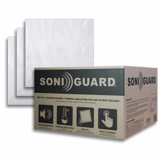 Soniguard™ Drop Ceiling Insulation