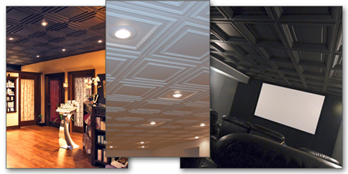Acoustic Ceiling Tiles and Acoustic Ceiling Panels