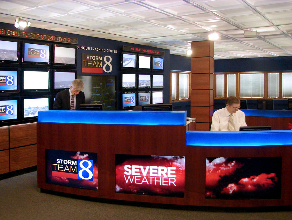 Storm Team 8 Newsroom
