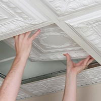 How To Install Suspended Drop Ceiling Tiles