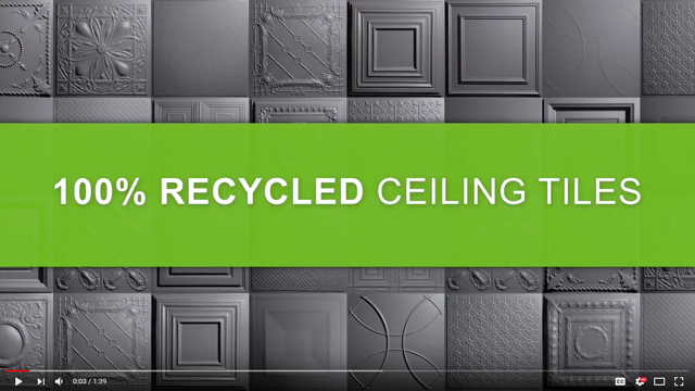 Recycled Ceiling Tiles Video