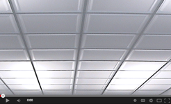How to install drop ceiling tiles ceilume luminous ceiling panels below light fixtures mozeypictures Images